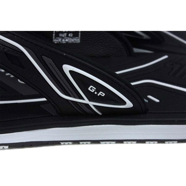 G.P (GOLD PIGEON) 阿亮代言 夾腳拖鞋 人字拖 黑色 男鞋 G1531M-10 no486