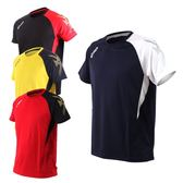 ASICS 男排羽球短袖T恤(免運 排球 羽球 訓練 亞瑟士≡體院≡