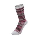 [Mont-Bell] (女) Merinowool Jacquard Socks 羊毛緹花襪 桃紅 (1108756DPK)