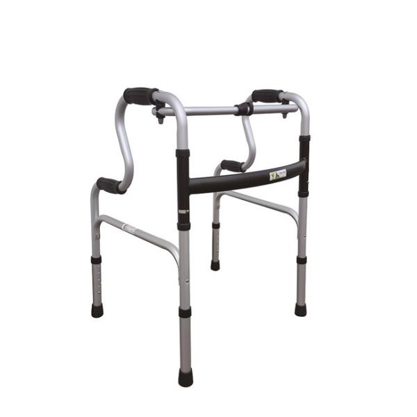 【海夫】杏華 1吋固定式 航太鋁合金 R型 助行器(2503)