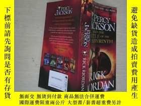 二手書博民逛書店PERCY罕見JACKSON AND THE BATTLE OF THE LABYRINTHY253683 、