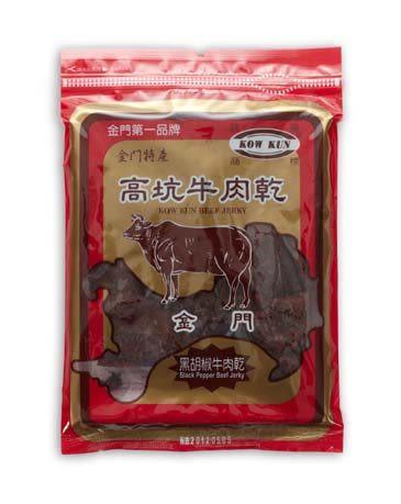 【金門高坑】黑胡椒牛肉乾  180g±5%