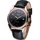 epos  經典復古自動機械腕錶3372.132.24.35.25FB 玫瑰金色殼