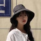 遮陽防曬帽子韓版女遮臉夏太陽大沿帽