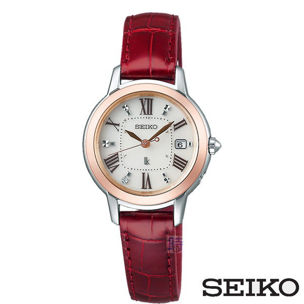 SEIKO/精工 太陽能 SSQW038J (1B22-0CK0J) 女錶 鈦金屬 電波錶/26.5mm