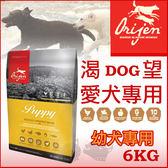 PetLand寵物樂園《Orijen 渴望》幼犬 6kg / 犬飼料