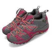Merrell 戶外鞋 Siren Sport Q2 GTX 灰 紅 Gore-Tex 防水 透氣 越野 休閒鞋 運動鞋 女鞋【PUMP306】 ML32840