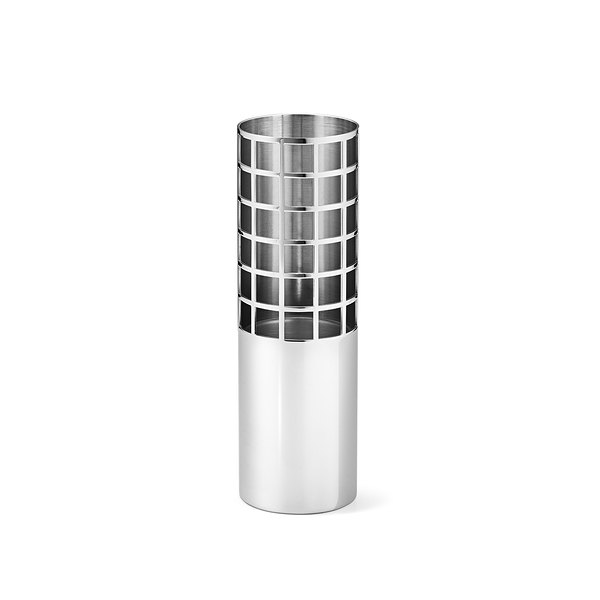 Georg Jensen Matrix Tube Vase Small H15.4cm 喬治傑生 矩陣系列 立式花瓶 - 小尺寸