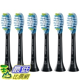 [牙刷頭 (黑白可選) Philips Sonicare Premium Plaque Control with BrushSync, Replacement Toothbrush Heads, 6-pack