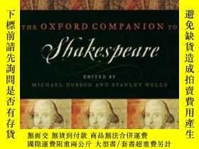 二手書博民逛書店The罕見Oxford Companion To ShakespeareY364682 Dobson, Mic