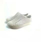 小童 Native JEFFERSON MARBLED 防水洞洞懶人休閒鞋《7+1童鞋》6045 白色