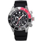 SEIKO 怒海潛將太陽能計時潛水腕錶-SSC617P1