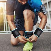 優惠兩天-沙袋綁腿 隱形可調跑步訓練裝備沙包鐵砂綁手腕1kg兒童負重綁腿