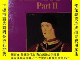 二手書博民逛書店◇英文原版書罕見Henry VI Part II by Will