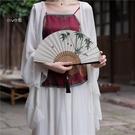 扇子 折扇竹扇子男女日式隨身折疊扇復古風...