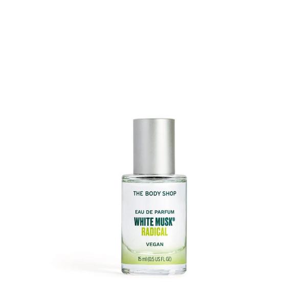 THE BODY SHOP 白麝香Radical 綠漾香水-15ML 百貨專櫃正貨 12811356015