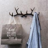 壁掛衣架 創意北歐門上壁掛衣架臥室房間衛生間墻面裝飾品掛鉤個性墻壁掛件jy【星時代生活館】