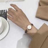 風手錶女閨蜜中學生韓版簡約細帶復古小錶盤可愛小清新伊芙莎