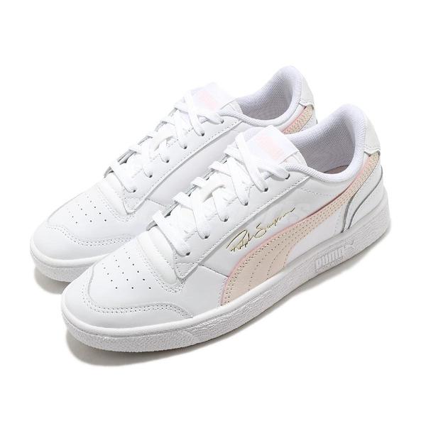 Puma 休閒鞋 Ralph Sampson 白 粉 女鞋 運動鞋 皮革 基本款【ACS】 37084612