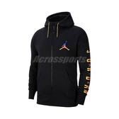 Nike 外套 Jordan Hoodie 黑 彩 男款 連帽外套 內刷毛 喬丹 運動休閒【ACS】 CU9123-010
