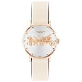 COACH 經典小馬車時尚腕錶28mm(14503796)