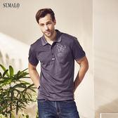 【ST.MALO】台灣製典藏恆時咖啡紗POLO衫-1825MP-煙灰色