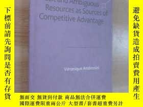 二手書博民逛書店英文書罕見Tacit and Ambiguous Resources as Sourcer of Competit