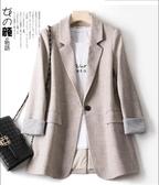 西裝外套 網紅西裝外套潮女士韓版新款春秋寬鬆休閒秋季韓國上衣小西服 新年慶