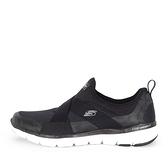 Skechers Flex Appeal 3.0 [13079WBKW] 女鞋 運動 休閒 慢跑 輕量 寬楦 黑 白