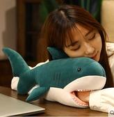 鯊魚午睡枕辦公室趴睡枕午休神器學生桌上睡覺枕頭暖手插手小抱枕