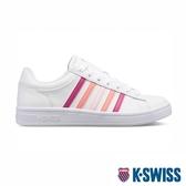 【超取】K-SWISS Court Winston時尚運動鞋-女-白/漸層粉