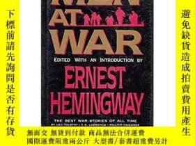 二手書博民逛書店Men罕見at War: The Best War Storie