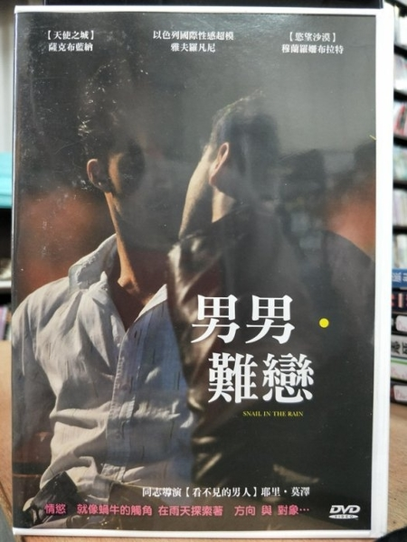 挖寶二手片-P20-044-正版DVD-電影【男男難戀】-雅夫羅凡尼 穆蘭羅姍布拉特 薩克布藍納(直購價)