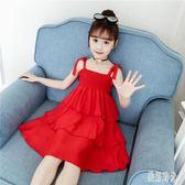 女童洋裝 女童連身裙2019新款夏裝裙子夏季小女孩公主裙韓版洋氣 zh5767『美好時光』