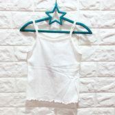 ☆棒棒糖童裝☆(S2846)夏男女大童白色花紋細肩背心 110-160