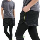 男款 短褲 慢跑褲 飄飄褲 馬拉松褲 無...