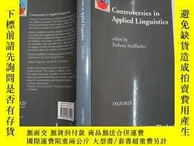 二手書博民逛書店Controversies罕見in Applied Lingui