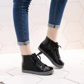 短筒雨鞋女套鞋 可愛果凍雨靴 水鞋防滑水靴子防水成人膠鞋