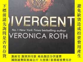 二手書博民逛書店Divergent,罕見Adult EditionY254800 Veronica Roth(维 Harper