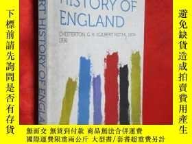 二手書博民逛書店A罕見SHORT HISTORY OF ENGLAND:CHES