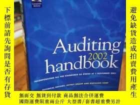 二手書博民逛書店AUDITING罕見HANDBOOK 2002 (VOLUME