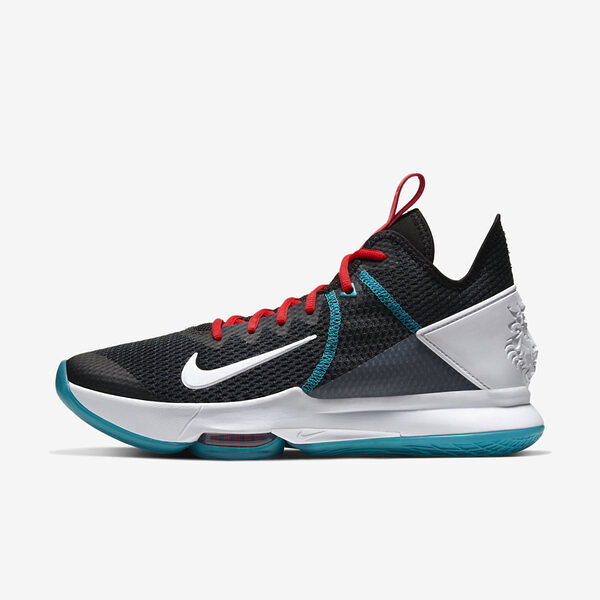 Nike Lebron Witness Iv Ep [CD0188-005] 男鞋 籃球 運動 避震 包覆 穿搭 黑 白