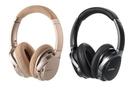 【8月限時促銷】Edifier W860NB 主動抗噪立體聲全罩式藍牙耳機 (黑/香檳金)