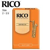 小叮噹的店 - 美國 RICO RI-BS Baritone 上低音 薩克斯風 竹片 SAX 各尺寸 10片裝 公司貨