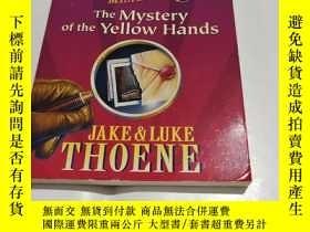 二手書博民逛書店THE罕見BAKER STREET MYSTERIES THE MYSTERY OF THE YEIIOW HAN