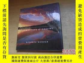 二手書博民逛書店CANADA罕見LANDSCAPE OF DREAMSY1842