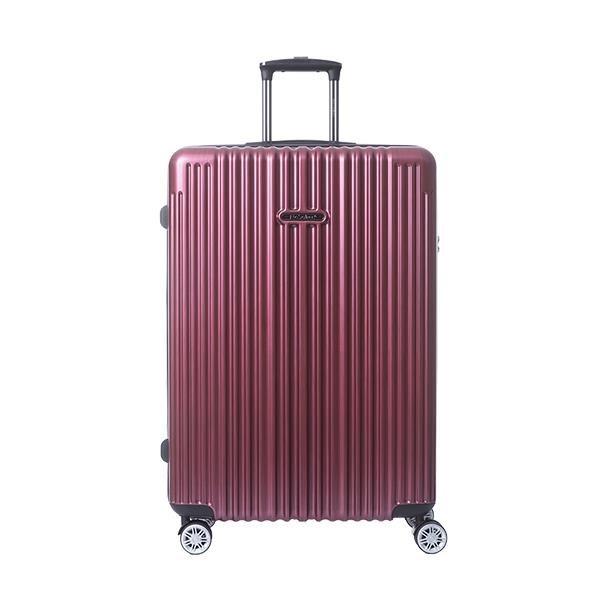【南紡購物中心】【NaSaDen 納莎登】新無憂系列TSA海關鎖29吋拉鍊行李箱(伯根紅)