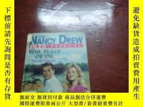 二手書博民逛書店THE罕見NANCY DREW FILES CASE46:WIN,PLACE OR DIE 南希·德魯檔案案第46