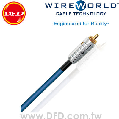 WIREWORLD LUNA 7 月亮 2.0M RCA 音源訊號線 原廠公司貨