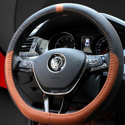 D型方向盤套專用 方向盤套 真皮 護套 BENZ VW PEUGEOT GTI 沂軒精品 A0196